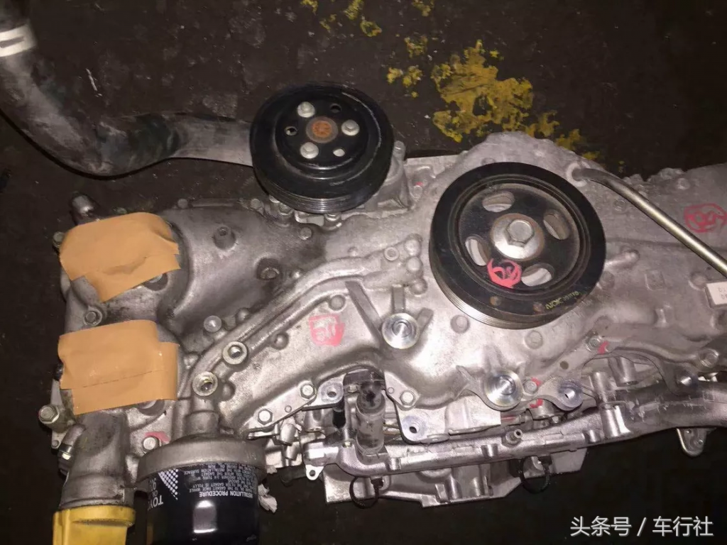 汽配人的一天(118)丰田86/斯巴鲁BRZ,发动机拆车件