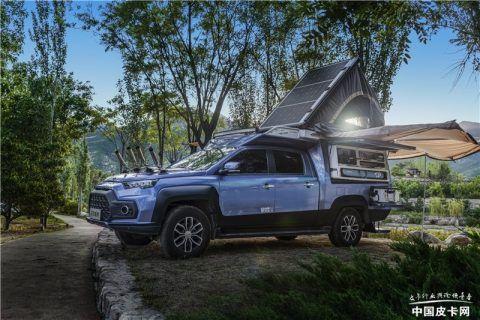jmc汽车售24万左右 江铃域虎钓鱼版将于8月上市