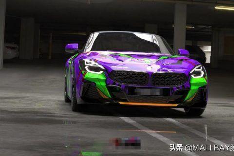 汽车彩绘用的是什么材料